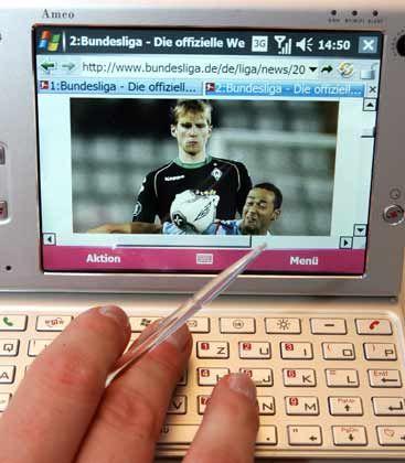 Smartphone Ameo: Handy und Mini-Laptop in einem