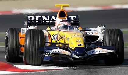 Erfolgreich: Formel-1- Rennwagen von Renault