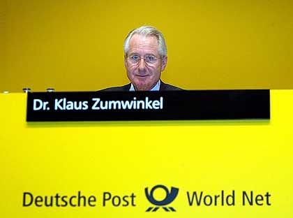 Klaus Zumwinkel: Kein gutes Wort für die Bahn übrig
