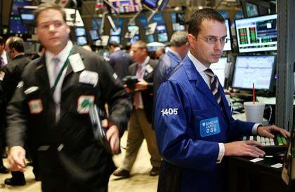 Sell on good news: Händler an der Wall Street