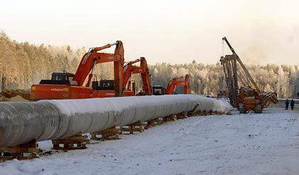 Neue Ostsee-Pipeline: Gas und Öl aus Russland