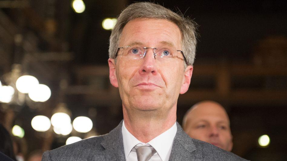 Der frühere Bundespräsident Christian Wulff: Klärung der Vorwürfe vor Gericht angestrebt