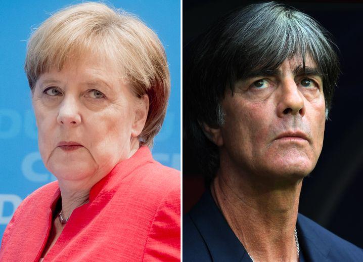 Alles eine Frage der Verweildauer: Prominente Abgänger Merkel und Löw