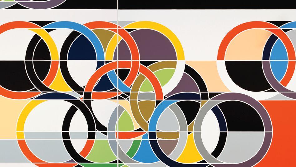 1972 (Rings), Kunstwerk von Sarah Morris