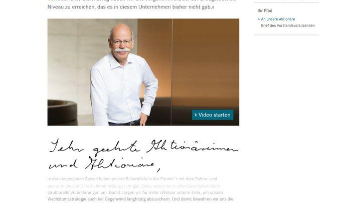 Übersicht: Was die Handschrift der Vorstandchefs verrät