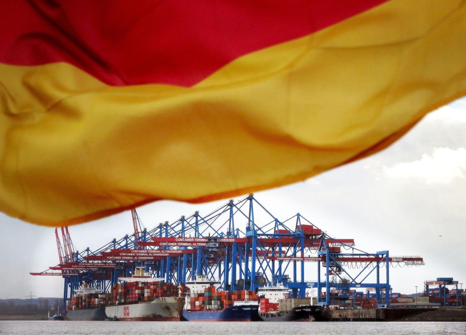 Deutschland / Export / Container Hamburg
