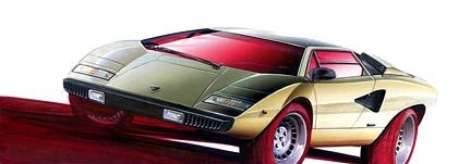 Einmal aufheulen lassen, und die Nackenhaare stehen: Designerentwurf eines Lamborghini