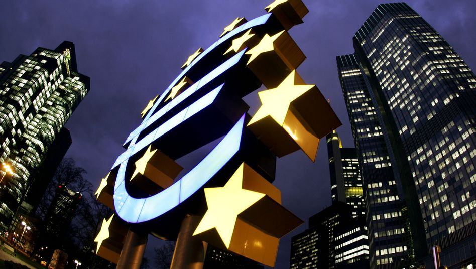 Unter Druck: Europas Zentralbank pumpt weiterhin hohe Mittel in die Märkte