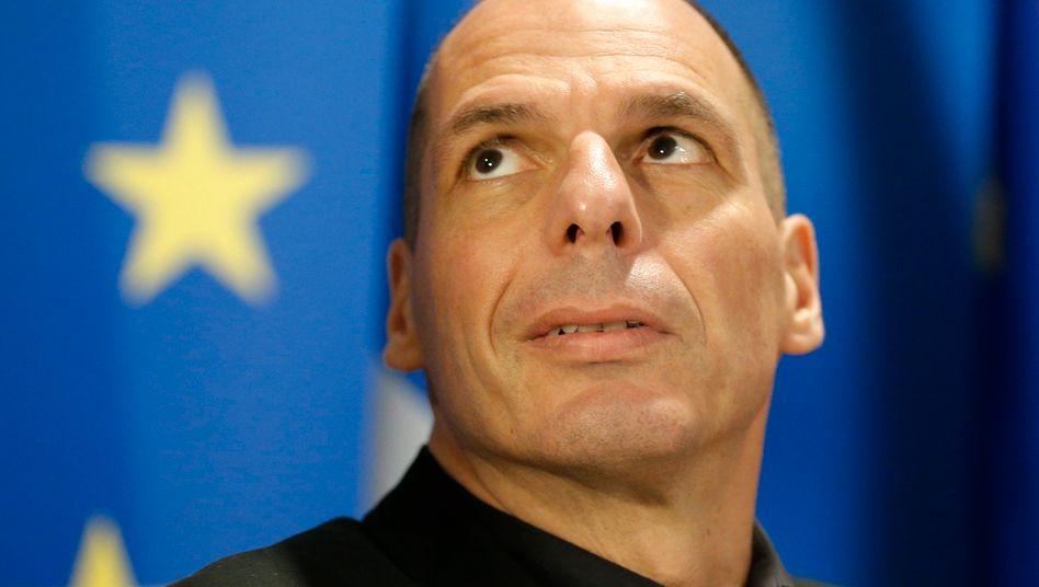"""Griechischer Finanzminister Yanis Varoufakis: Merkel kann für eine """"ehrenvolle Einigung"""" eintreten - oder eine """"prinzipientreue"""" griechische Regierung über Bord werfen"""