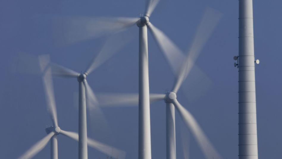 Windkraftanlagen: Anteil an der deutschen Stromproduktion steigt