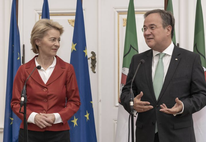 Keine Zeit zu verlieren: Kann CDU-Kanzlerkandidat Armin Laschet gemeinsam mit Parteikollegin und Kommissionspräsidentin Ursula von der Leyen einen europäischen Aufbruch organisieren?