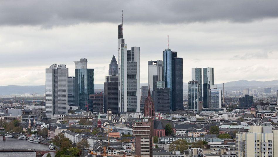 Skyline von Frankfurt: Die Banken fürchten die EZB-Stresstests