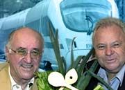 Man kennt sich: Sternekoch Witzigmann stellt mit Alfred Biolek (l) ein gemeinsam geschriebenes Kochbuch vor