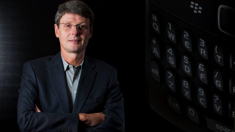 Neuer RIM-CEO: Thorsten Heins wechselte 2007 von Siemens zu dem Blackberry-Hersteller