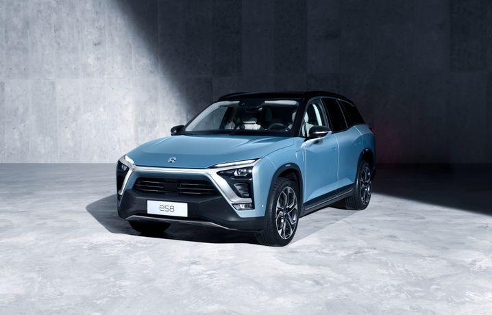 Nio ES 8: Der Elektro-SUV ist in China nur halb so teuer wie Teslas Model X - bei vergleichbarer Leistung