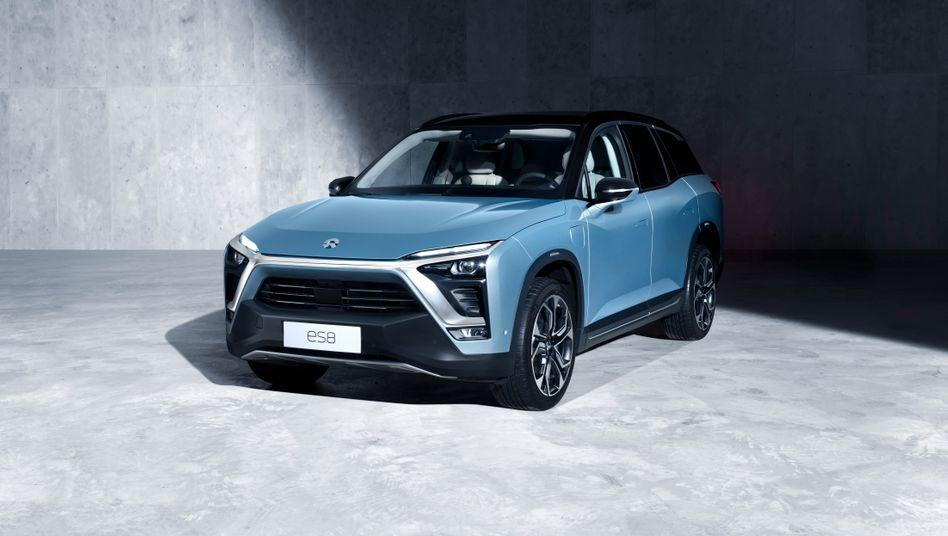 Nio ES 8: Der Elextro-SUV soll Teslas Model X Konkurrenz machen