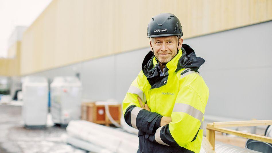 Stromlieferant: Northvolt-Chef Peter Carlsson ist gefragter Gesprächspartner der Autobosse