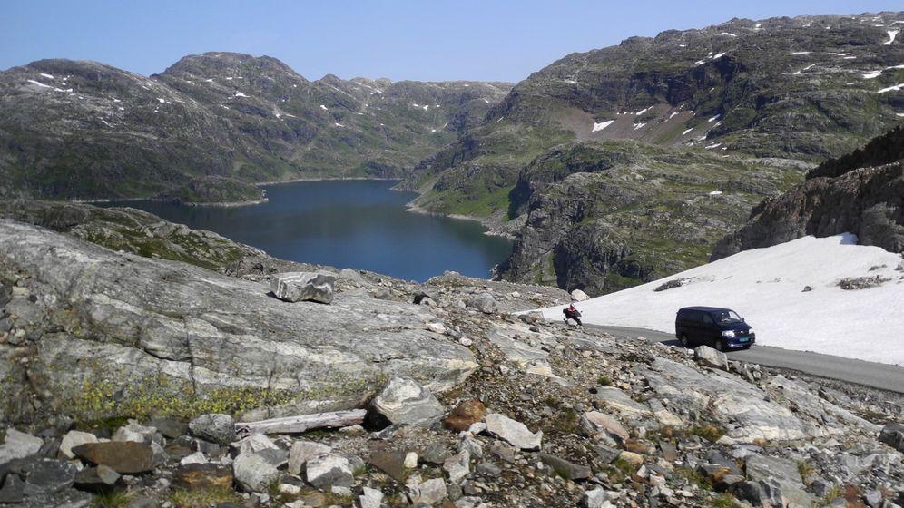 Norwegen: Mit Helm auf den Gletscher