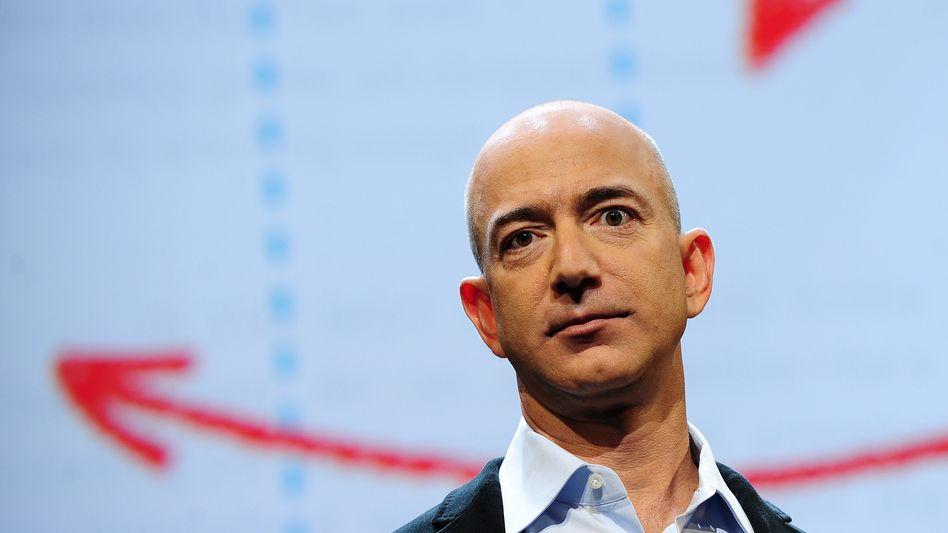 860 Millionen Dollar Gewinn mit der Cloud, doch Amazon-Chef Bezos enttäuscht mit einem verhaltenen Ausblick