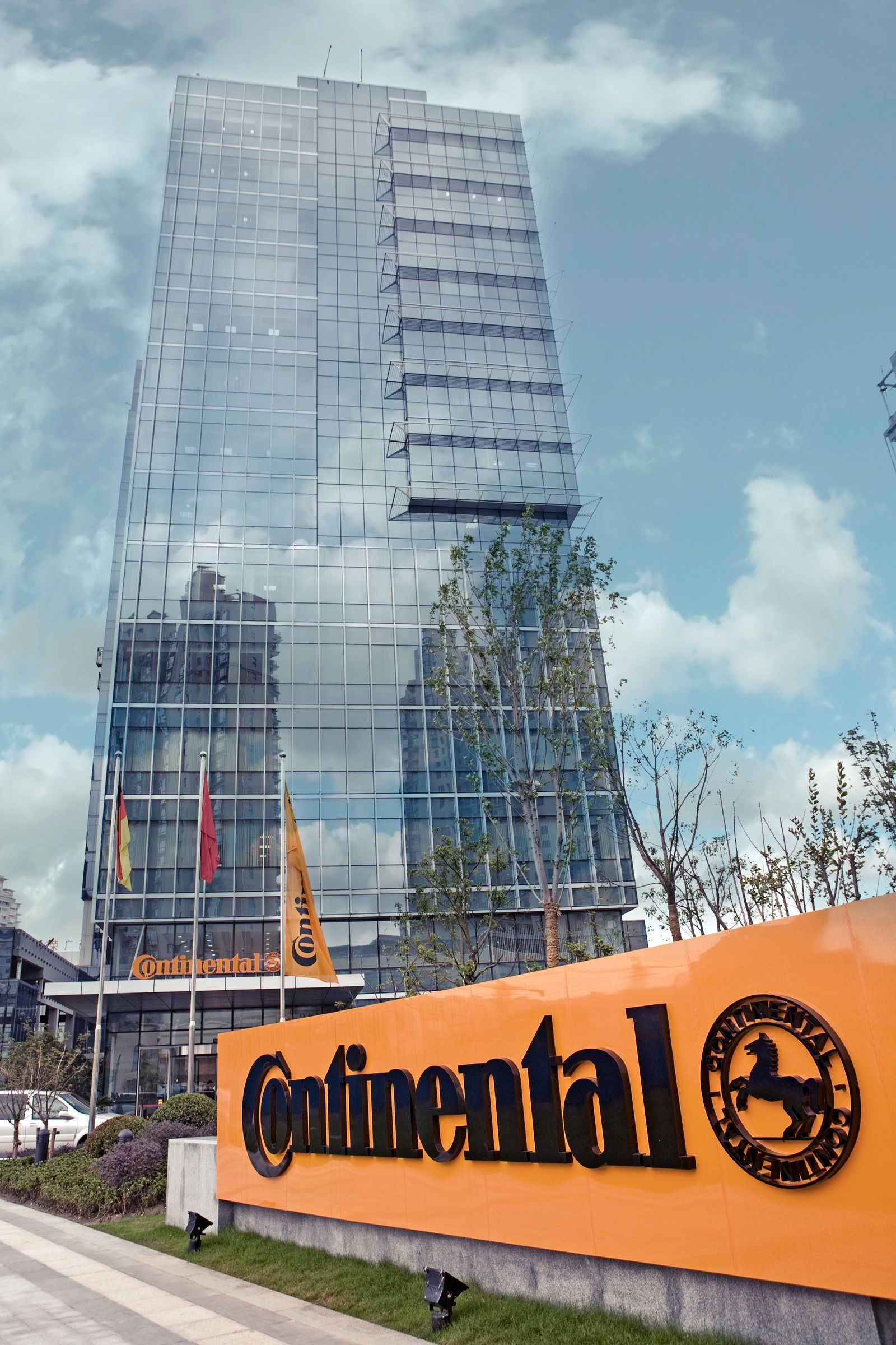 Continental / Asian Headquarter in Shanghai