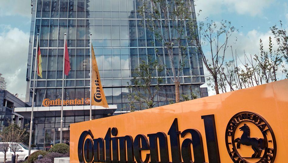 Continental-Zentrale in Shanghai: Der Autozulieferer und Reifenhersteller setzt beim Wachstum vor allem auf China