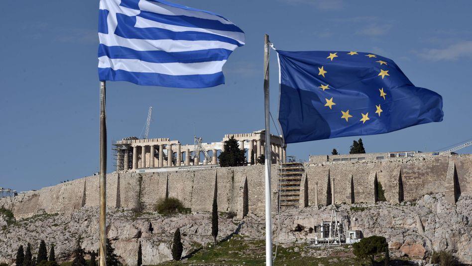 Akropolis in Athen: Hoher Schuldenstand nur als Kulisse?