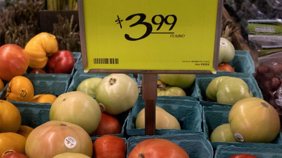 Inflation überwunden? Lebensmittel und andere Dinge des täglichen Bedarfs sind in den USA derzeit vergleichsweise teuer