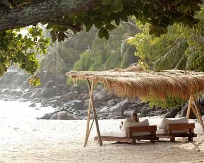Entspannen auf der teuersten Insel der Welt: Reiche Öko-Touristen wissen die Natur und die Einsamkeit zu schätzen