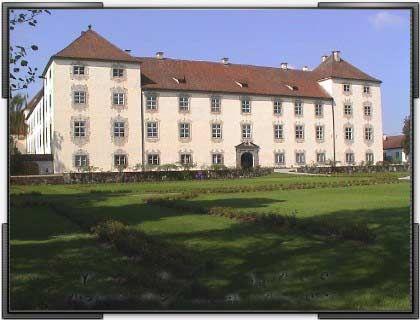 Herrschaftliche Pracht: Hauptportal Schloss Zeil