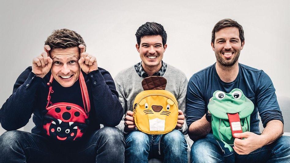 Nächster Streich: Die Gründer Sven-Oliver Pink, Florian Michajlezko und Oliver Steinki (v. l.) nehmen nach Schulen und Kindergärten nun die Welt ins Visier.
