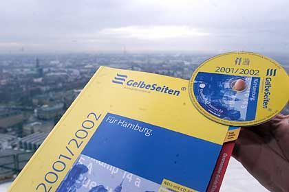 """""""Gelbe Seiten"""": Künftig dürfen auch andere Anbieter von Branchenbüchern diesen Begriff verwenden."""
