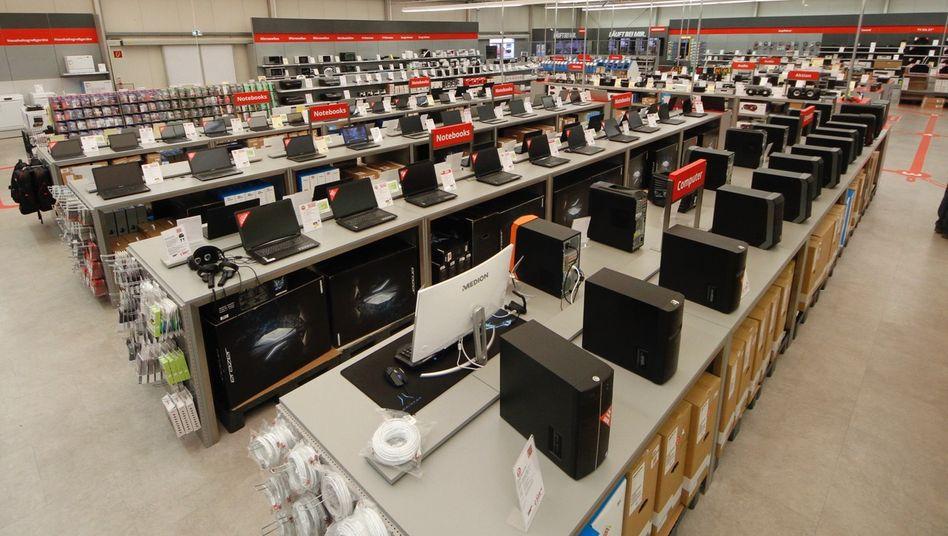 Händler: Seit 1983 verkauft das Essener Unternehmen Medion Elektronikprodukte.