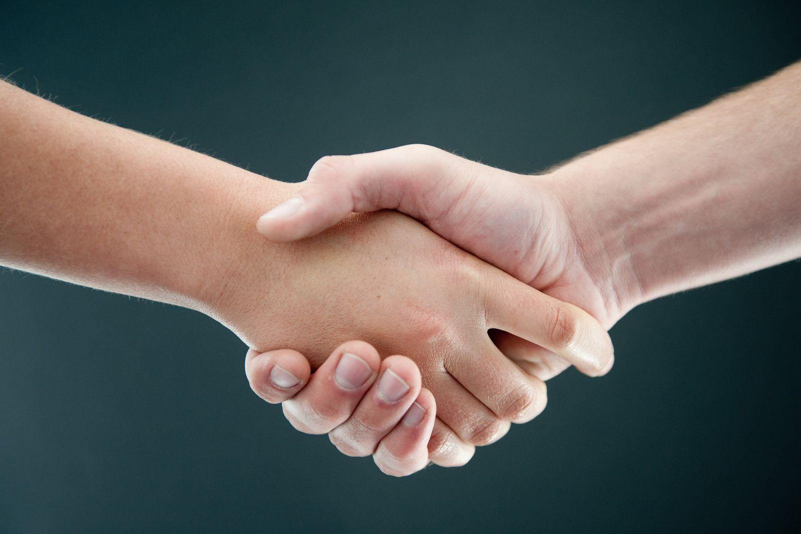 Freunde / Hände / Freundschaft