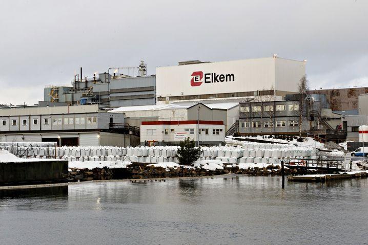 Elkem-Fabrik in Norwegen