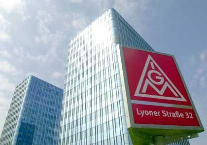 Nachbeben des Führungsstreits: Die IG-Metall-Zentrale in Frankfurt/M.