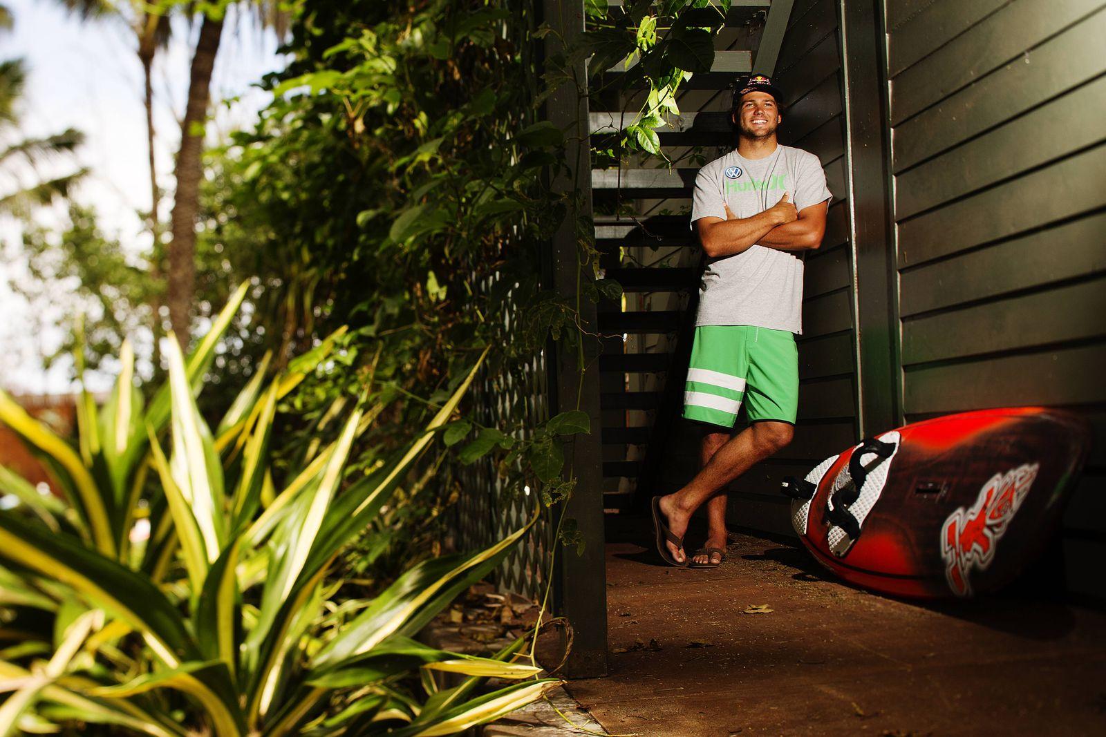 Philipp Köster Windsurf Profi Ex Windsurf Weltmeister Wave von Gran Canaria