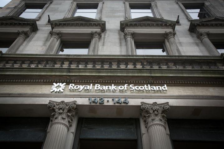 Filiale der Royal Bank of Scotland: Zweites Standbein