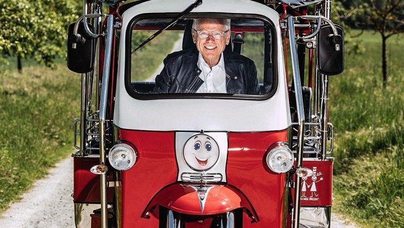 Fährt heute beruflich auf Tuk-Tuks ab, bald mit elektrischem Antrieb: Wolfgang Ziebart