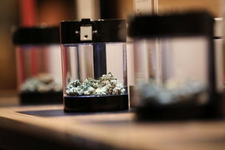 Cannabis zum Kauf in einem kanadischen Ladengeschäft