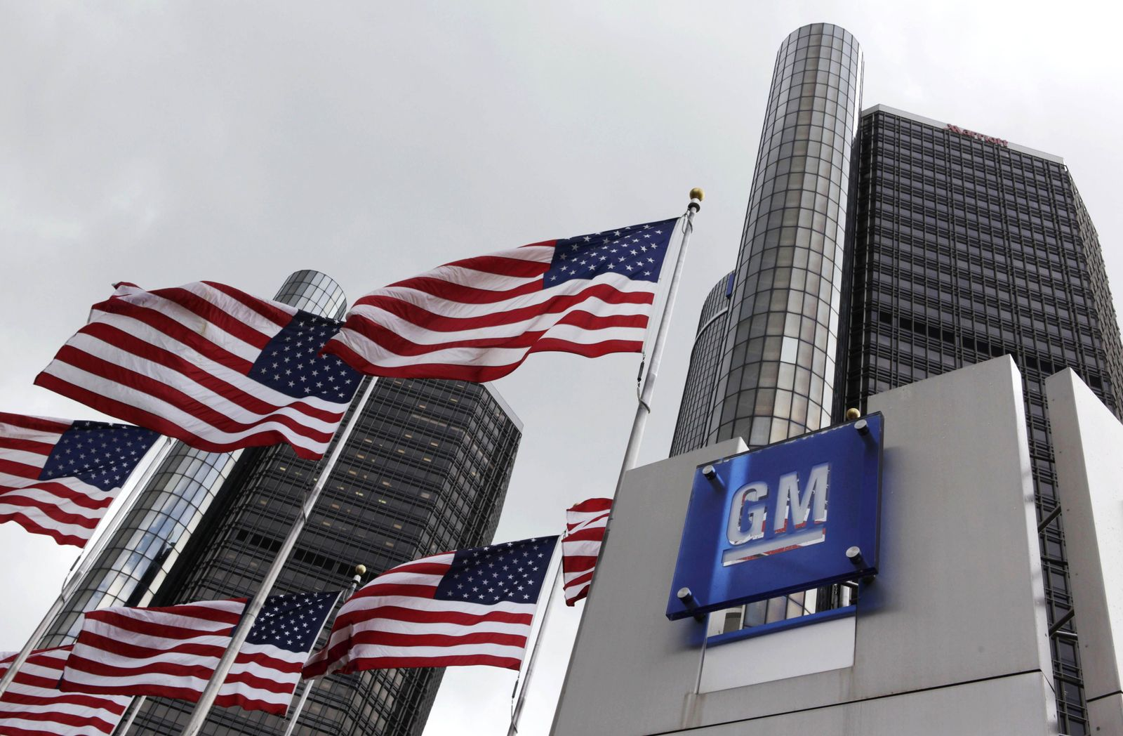 GM Zentrale Detroit