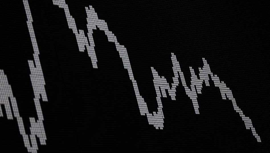"""Dax-Kurve: Charttechnik und """"Value at Risk"""" Modelle haben den Abverkauf im Dax zuletzt verstärkt"""