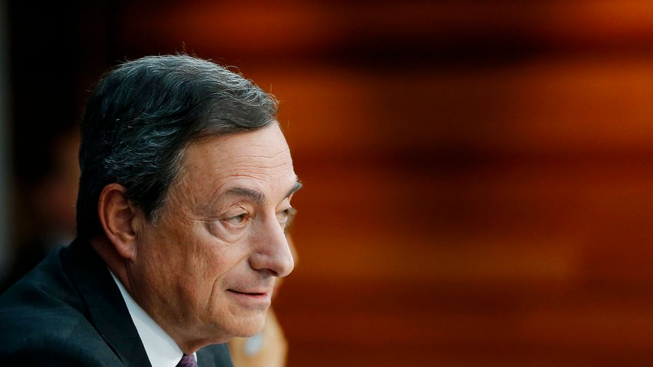 EZB-Chef Mario Draghi: Eine Billion Euro sind der Rahmen
