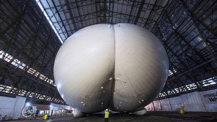 Airlander: Die neue Hoffnung auf Mega-Luftschiffe