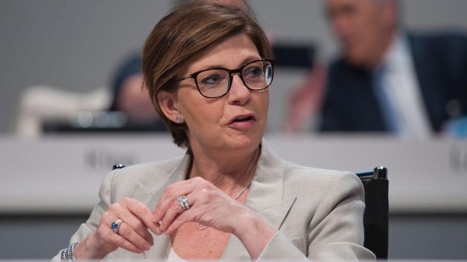 Ist Vorständin Sylvie Matherat kurz vor dem Abgang bei der Deutschen Bank?