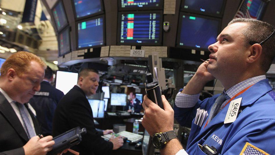 Entspannung: Auch an der Wall Street ging die Woche mit Gewinnen los