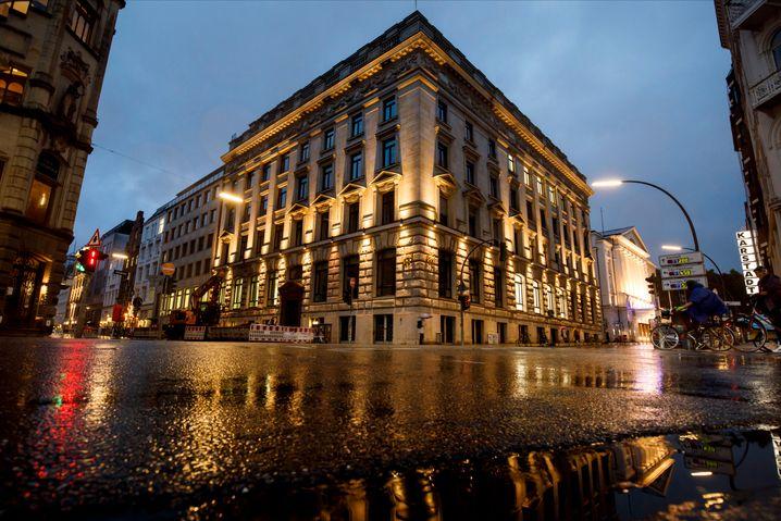 Eine kleine Diva: Die Privatbank Warburg in Hamburg