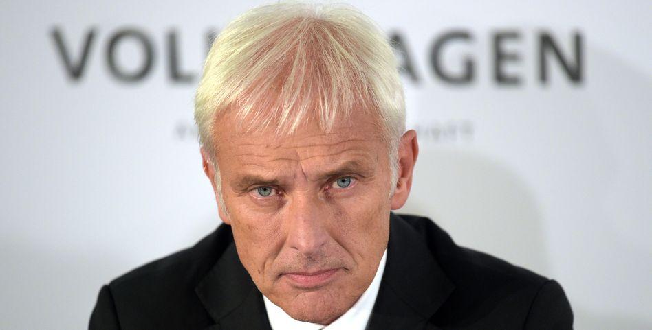 Volkswagen-Chef Matthias Müller: Was wird er über den Stand der Ermittlungen im Abgasskandal sagen?