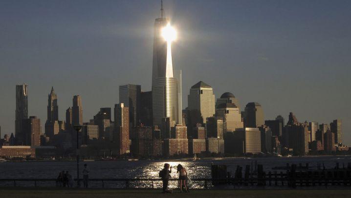 Sensationell: Bilder von der Spitze des One World Trade Center