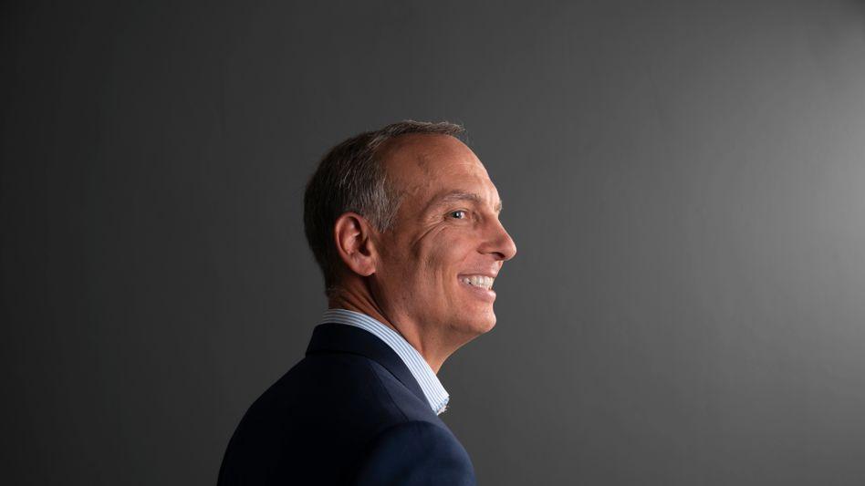 Das Lächeln des Siegers: Der Amerikaner Glenn Fogel führt den erfolgreichsten Touristikkonzern der Welt
