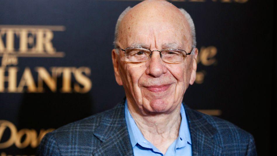 Medienmogul Murdoch: Verdient fast eineinhalb mal soviel wie im Vorjahr